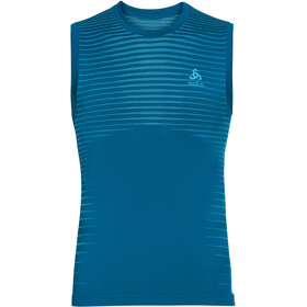 Odlo Performance Light Top Crew Neck Singlet Men, mykonos blue/horizon blue